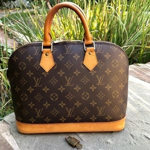💯 Authentic Louis Vuitton Alma **W/PADLOCK** 🔐